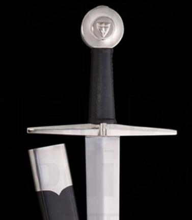 Espada Cruz Funcional con Escudo 1 - Espada Cruz Funcional con Escudo