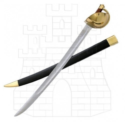 Espada Pirata Mano Izquierda - Espadas y sables funcionales de los piratas y corsarios