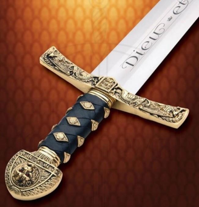 Espada de Ricardo Corazón de León lujo 660x675 - Espada de Ricardo Corazón de León lujo