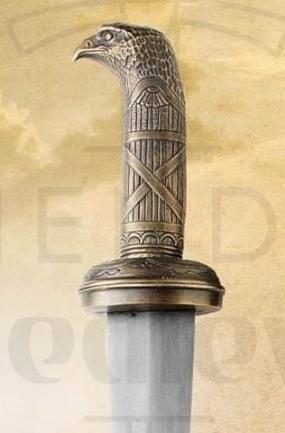 Gladius Oficial Romano - Gladius de Oficial Romano con vaina