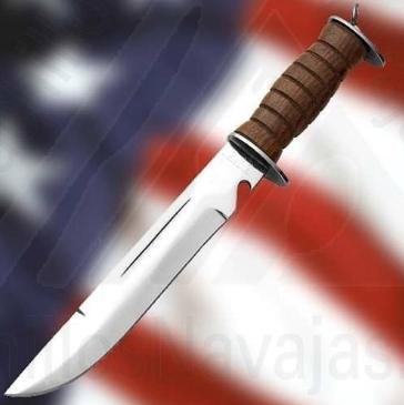 Cuchillo E.G. Waterman Americano 2ª Guerra Mundial 1 - Cuchillo E.G. Waterman Americano 2ª Guerra Mundial