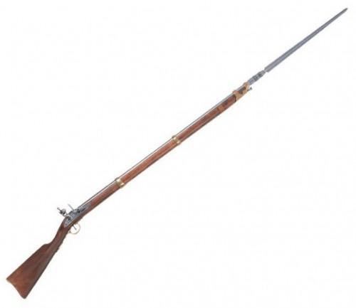 Fusil francés con bayoneta época napoleónica 1806 - Fusil francés con bayoneta época napoleónica 1806