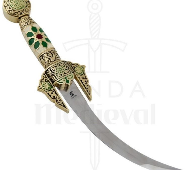 Daga Árabe curva decorada 754x675 - Daga Árabe curva decorada