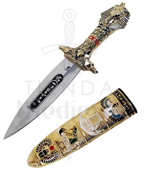 Daga Egipcia De Tutankamon 30 Cms. - Espada y Daga Egipcia de Tutankamón