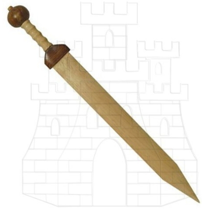 Espada Gladius de madera - Espadas de madera para prácticas