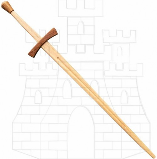 Espada madera 2 manos para prácticas - Espadas de madera para prácticas