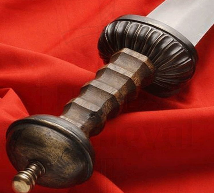 Espada Gladius Centurión Romano Puño 747x675 - Espada Gladius Centurión Romano Puño