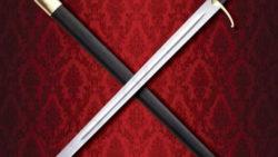 Espada de Combate a dos manos Caballero Errante 250x141 - Espada y cuchillo de combate Hattin