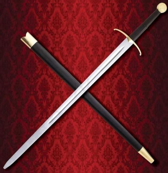 Espada de Combate a dos manos Caballero Errante 738x675 - Espada de Combate a dos manos Caballero Errante