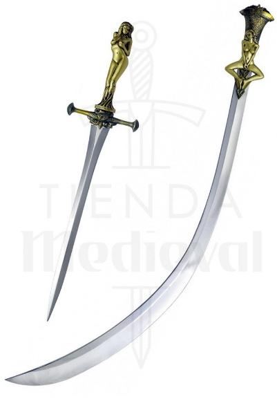 Espada y Estilete Las Mujeres de Daario Naharis Juego de Tronos - Espadas Oficiales Juego de Tronos