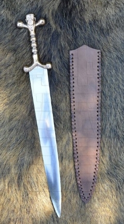 Daga celta con funda de cuero - Daga Celta