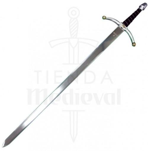 Espada Medieval puño terciopelo - Espadas y dagas con puño de terciopelo