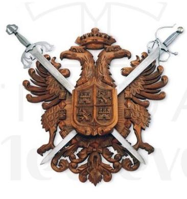 Panoplia Águila Imperial - Panoplias para espadas, sables y katanas