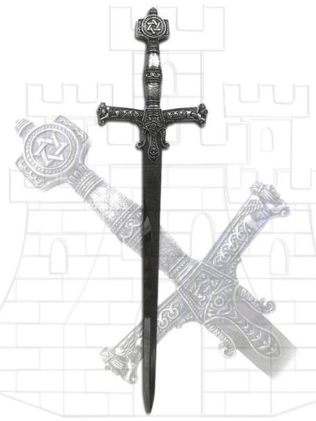 Abrecartas Salomón - Dagas y Espadas del Rey Salomón