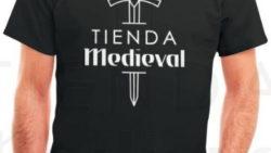 Camiseta Negra de Tienda Medieval 1 250x141 - Tienda-Medieval segundo puesto on-line en Aragón