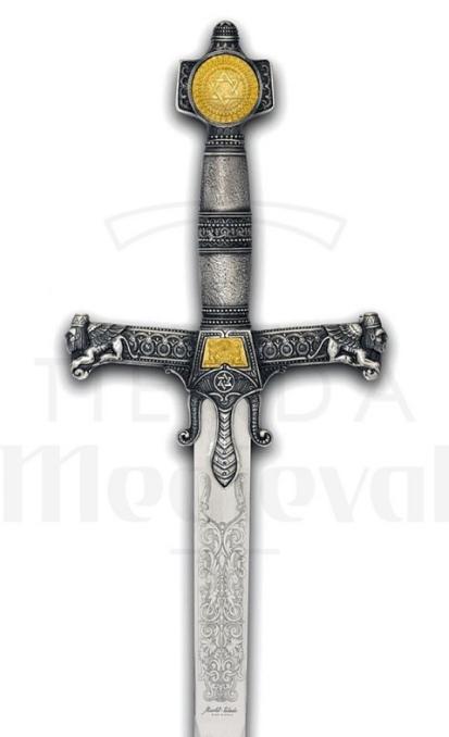 Espada cadete Salomón - Dagas y Espadas del Rey Salomón