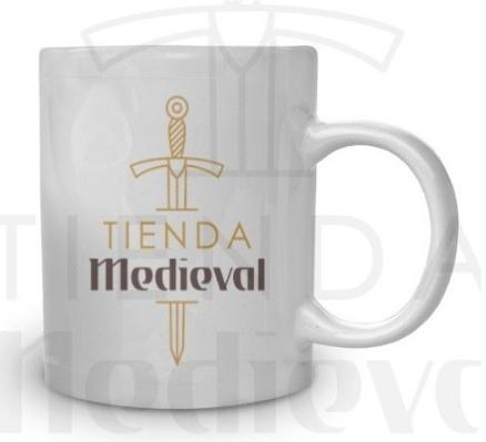 Taza de cerámica de Tienda Medieval - Taza de cerámica de Tienda-Medieval