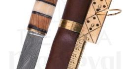 Cuchillo Vikingo Seax Acero de Damasco 250x141 - Cuchillo Vikingo Seax Acero de Damasco