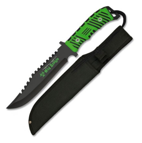 Cuchillo táctico Mad Zombie - Cuchillo táctico Mad Zombie