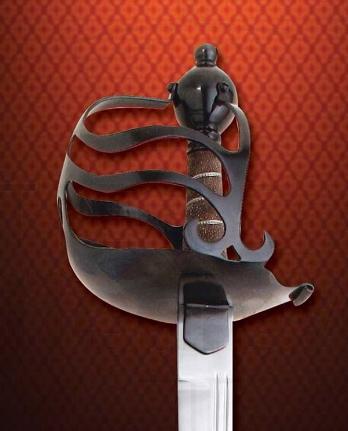Espada inglesa media cesta funcional - Espada inglesa media cesta funcional