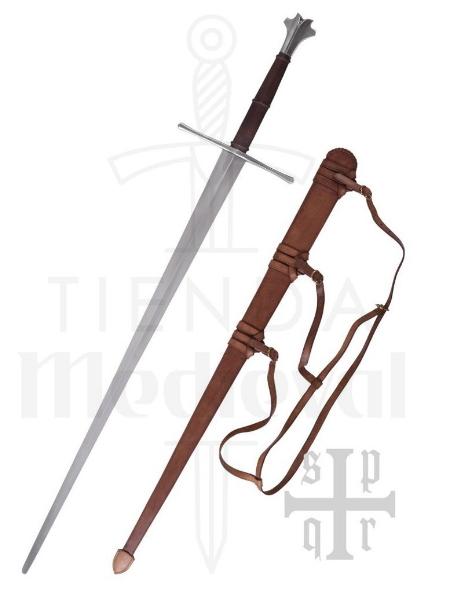 Espada medieval larga S. XV - Espadas medievales largas