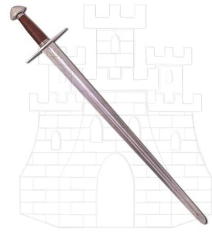Espada normanda larga funcional - Espadas medievales largas
