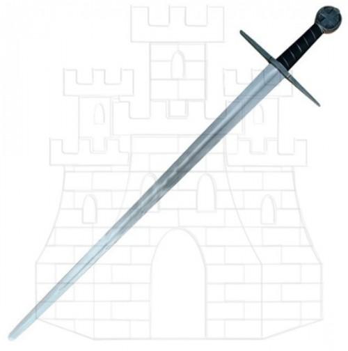 Espada templaria larga una mano - Espadas medievales largas