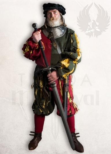 Lansquenete - Espada Mercenarios funcional del siglo XV