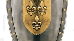 Escudo Con Flor De Lys En El Centro 250x141 - Escudo Con Flor De Lys En El Centro