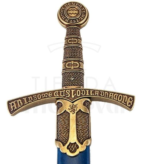 Espada Medieval Flor De Lys Francia S. XIV 1 - Espada medieval Flor de Lys Francia Siglo XIV