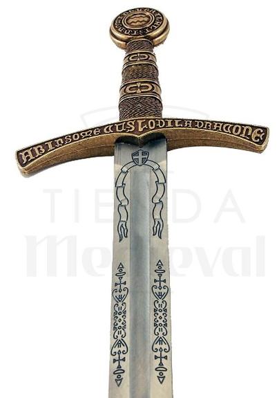 Espada Medieval Flor De Lys Francia Siglo XIV - Espada medieval Flor de Lys Francia Siglo XIV
