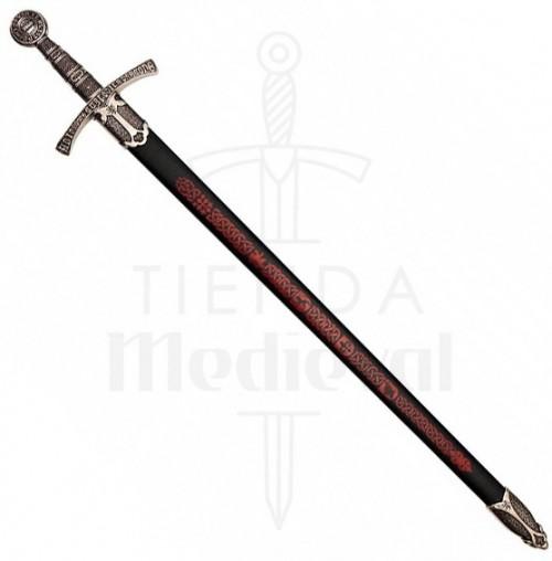 Espada Medieval León Rampante Francia Siglo XIV - Espada medieval León Rampante