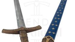 Espada medieval flor de lys francesa siglo XIV 250x141 - Espada medieval flor de lys francesa siglo XIV