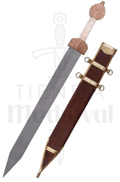 Espada Romana Gladius Fulham Con Vaina Siglo III A.C. - Gladius Romana Fulham Siglo I