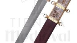 Espada Romana Gladius Xanten Con Vaina Siglo III D.C. 250x141 - Espada Gladius Hispánica de Caballería