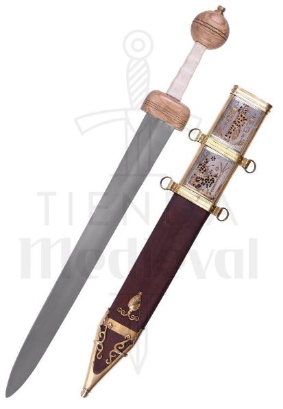 Espada Romana Gladius Xanten Con Vaina Siglo III D.C. - Gladius Xanten