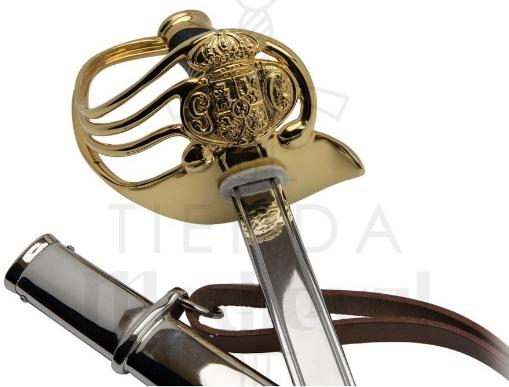 Sable Oficial Guardia Civil Año 1844 - Sable Oficial Guardia Civil, Año 1844
