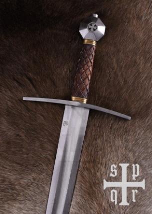Espada Medieval De Una Mano Oakeshott Xlla S. XIII - Espada Alemana Oakeshott del siglo XVIII