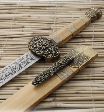 Espada Budista Shaolin Dharma 1 - Espadas Budistas Shaolin