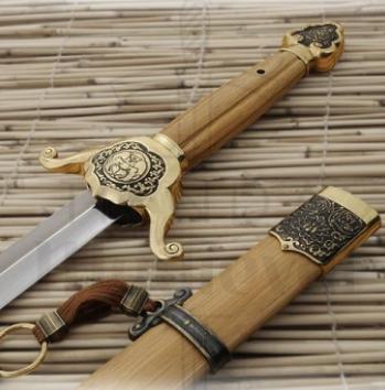 Espada Budista Shaolin Jian 1 - Espadas Budistas Shaolin