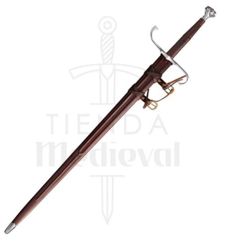 Espada Medieval Alemana Larga Funcional - Espada Medieval Alemana Larga Funcional