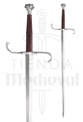 Espada Medieval Alemana Larga. Funcional. - Espada Medieval Alemana Larga Funcional