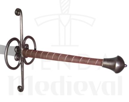 Espada Montante Lowlander Renacentista 1 - Espada Montante Lowlander Renacentista