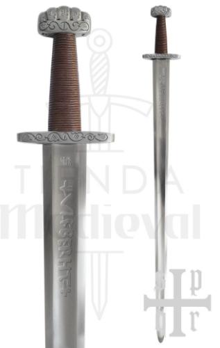 Espada Vikinga Ballinderry Una Mano Para Practicas Siglo IX - Espada Vikinga Ballinderry de combate siglo IX