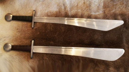 Falchion Para Combate Medieval Buhurt HMB 1 - Tipología de Espadas Funcionales